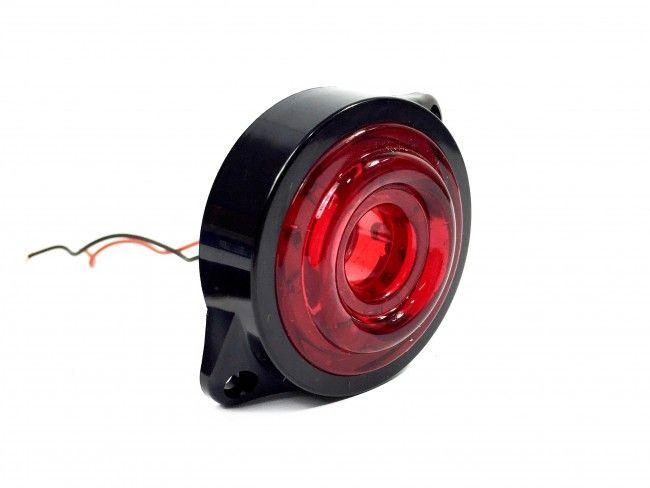 Габаритни LED светлини за камиони и каросерии 24V RED - червен цвят