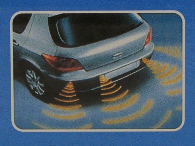 Парктроник система премиум модел с 4 металик сензори и LED дисплей, за лесно паркиране