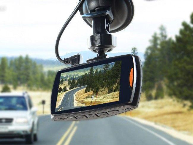FULL HD 2.7'LCD авто видеорегистратор - автокамера H300 с нощен режим на работа
