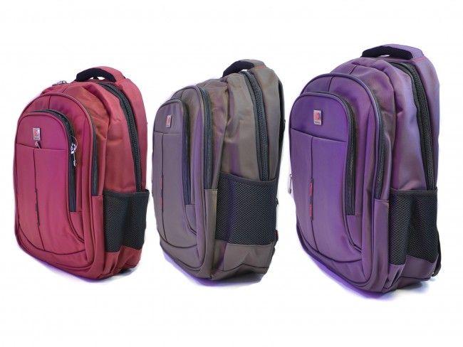Висок клас раница 3268 - Red, Purple, Brown, бизнес раница, ученическа раница