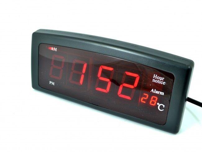 Надежден електронен часовник с аларма и термометър CX-818