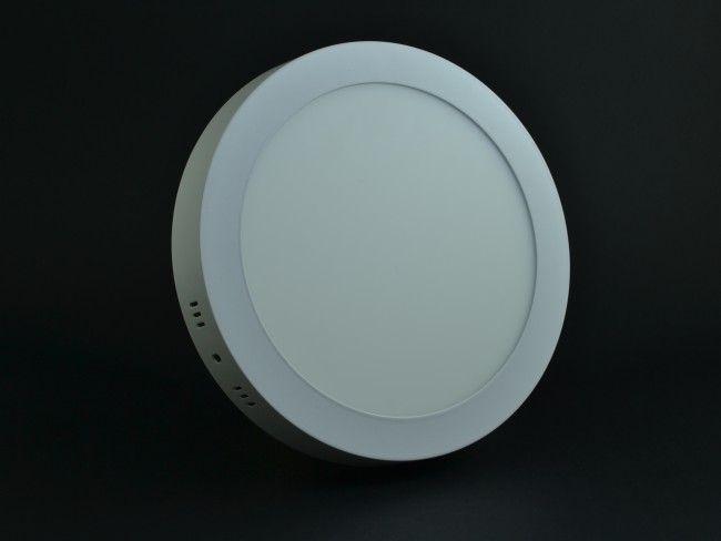 LED осветително тяло за стена или таван 18W ~AC85~220V 3000K бяла светлина