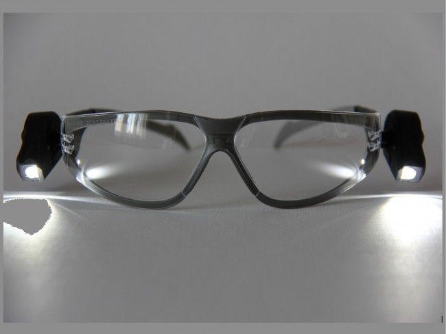 Най-доброто в класа си: 3M очила с вградени 2 броя LED осветителни мини тела