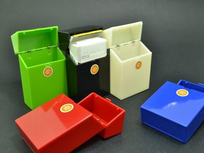 Пластмасов калъф за кутия за цигари с автоматично пружинно отваряне 089