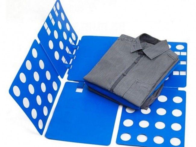 Заводски перфектно сгъната риза за 5 секунди. Виж как с FLIPFOLD