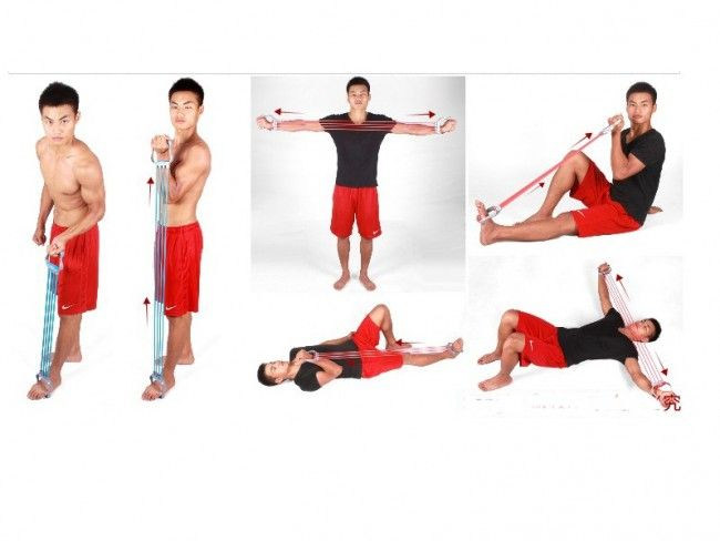 Единично ластично въже за тренировки
