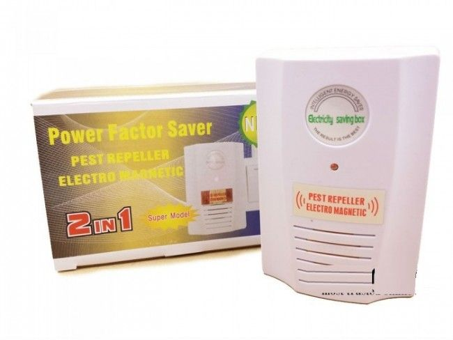 Иновативен уред 2 в 1 за пестене на енергия и против гризачи Power Saver & Pest Repeller