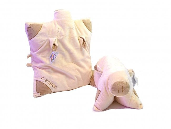 Ултра мека и нежна детска възглавничка E-STRONG PIGGG 07790АR08