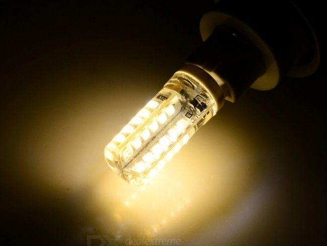 Икономична LED крушка G9 3W ~220V 3500К жълтеникава топла светлина