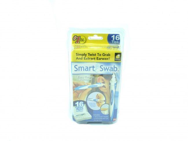 Уред за бързо, безопасно и ефективно почистване на ушните канали Smart Swab