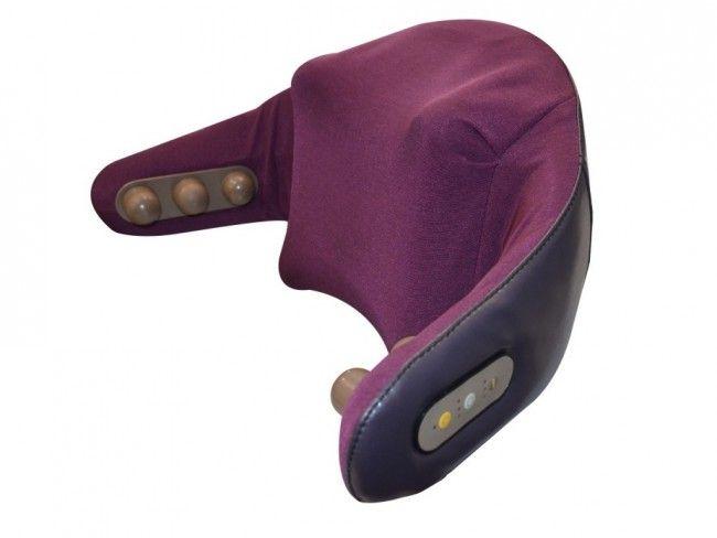 Луксозен ШИАЦУ масажор за врат, плешки, рамене, кръст и талия REXTON P01