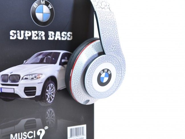 HiFi аудио стерео слушалки SUPER BASS BMW X6 Special Edition