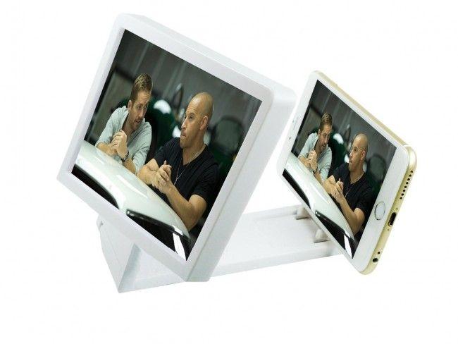 Телефонът се превръща в кино стена с Увеличаващия екран за мобилни телефони