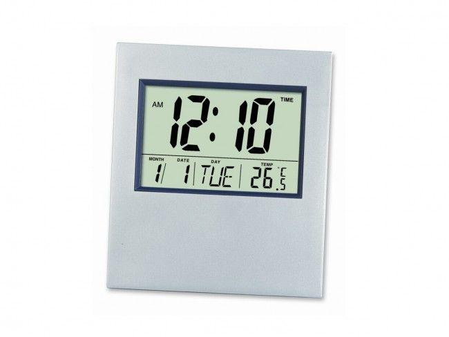 Голям настолно-стенен електронен часовник с аларма, календар, температура KENKO KK-2803