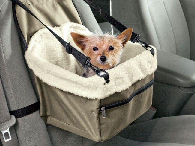 PЕT BOOSTER SET - авто къщичка за кученце или коте, с каиши за прикрепяне към седалка