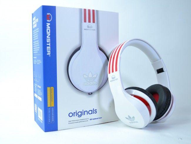 HiFi аудио стерео слушалки Beats MONSTER ADIDAS