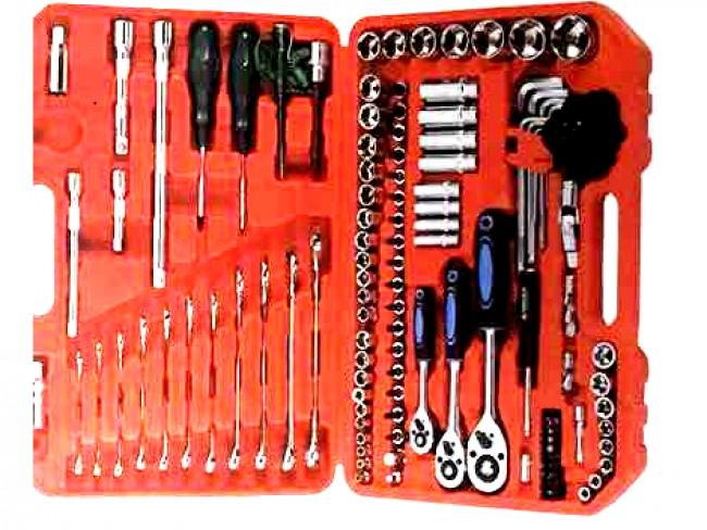Голям куфар със 121 инструмента Dr.Socket Wrench Set SR-1003 121 части