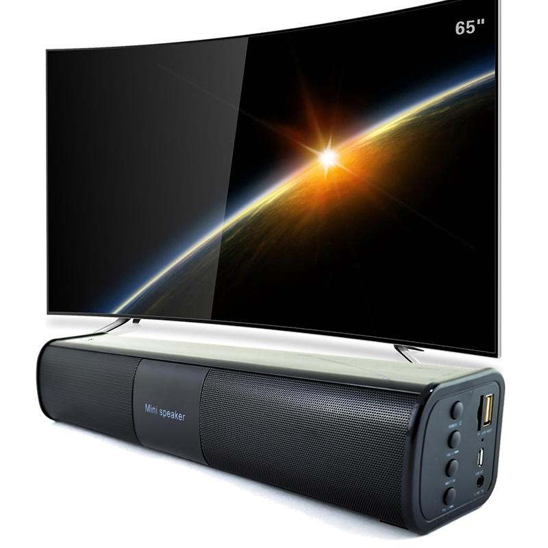 Портативна мини HiFi аудио система BT-818 - идеална за озвучаване на телевизор