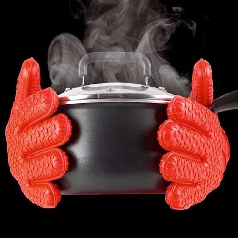 Чифт супер огнеупорни силиконови ръкавици HOT HANDS