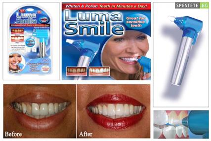 Luma Smile- ултразвукова система за почистване, избелване и полиране на зъбния емайл, 2хАА
