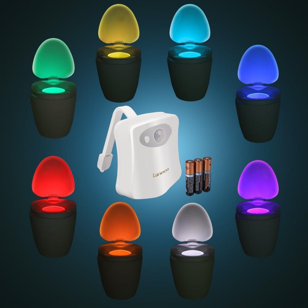 TOILIGHT LED осветление за тоалетна със сензор за движение