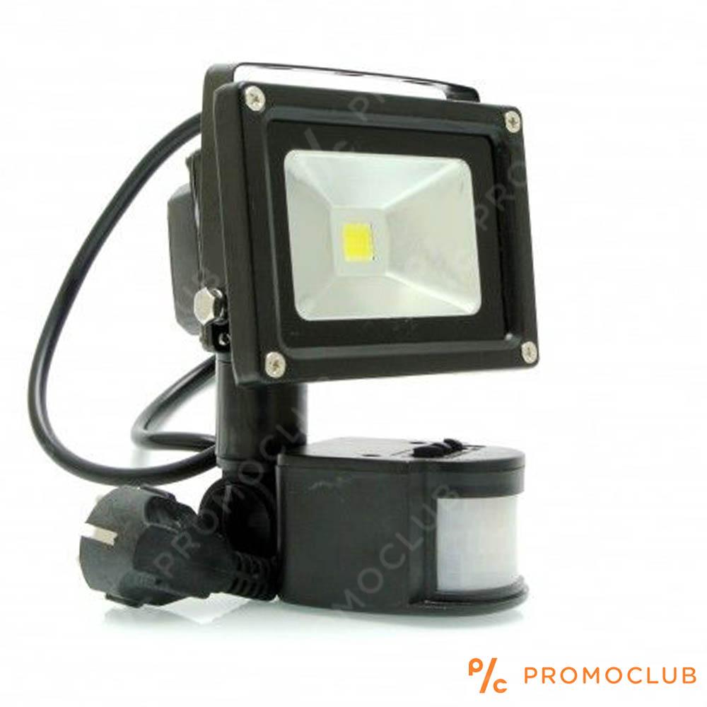 Супер икономичен LED прожектор за външен монтаж 10W 700 lm с интелигентен датчик