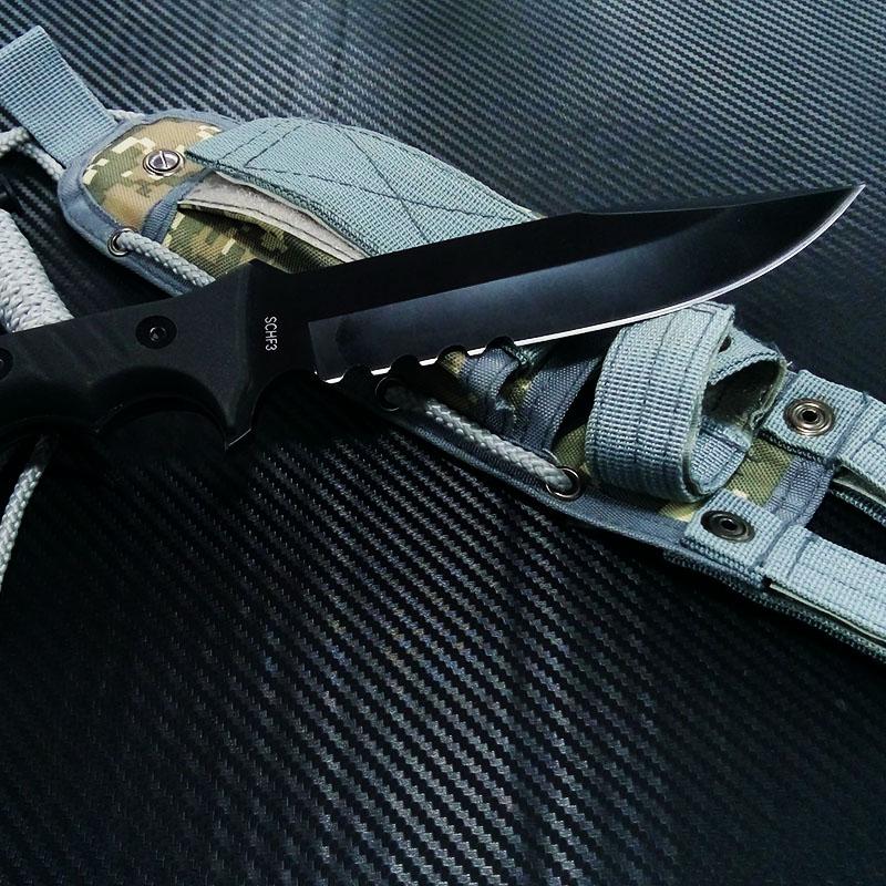 Ювелирен тактически нож SCHRADE SCHF3 EXTREME SURVIVAL, ловен нож