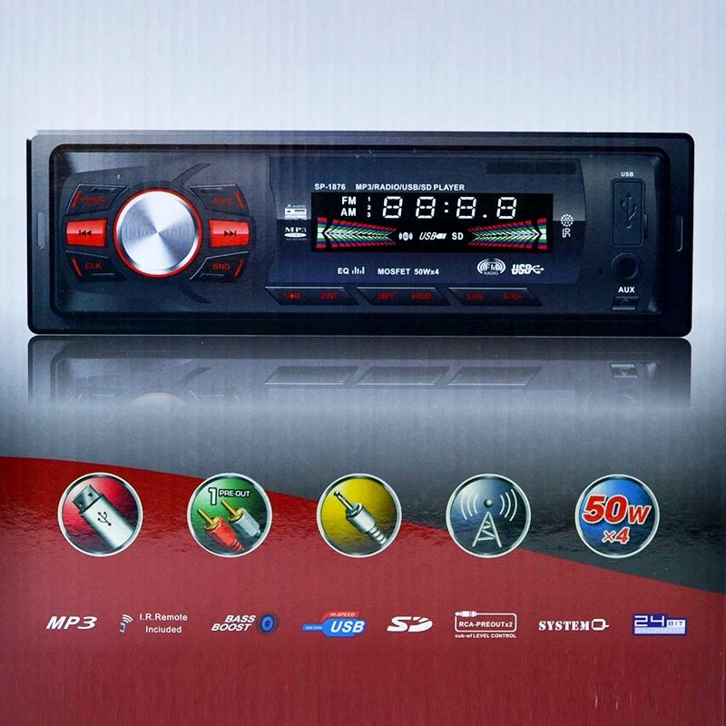 HiFi авто-аудио XPLORE6255 CDX МP3памет microSD/AUX/FM