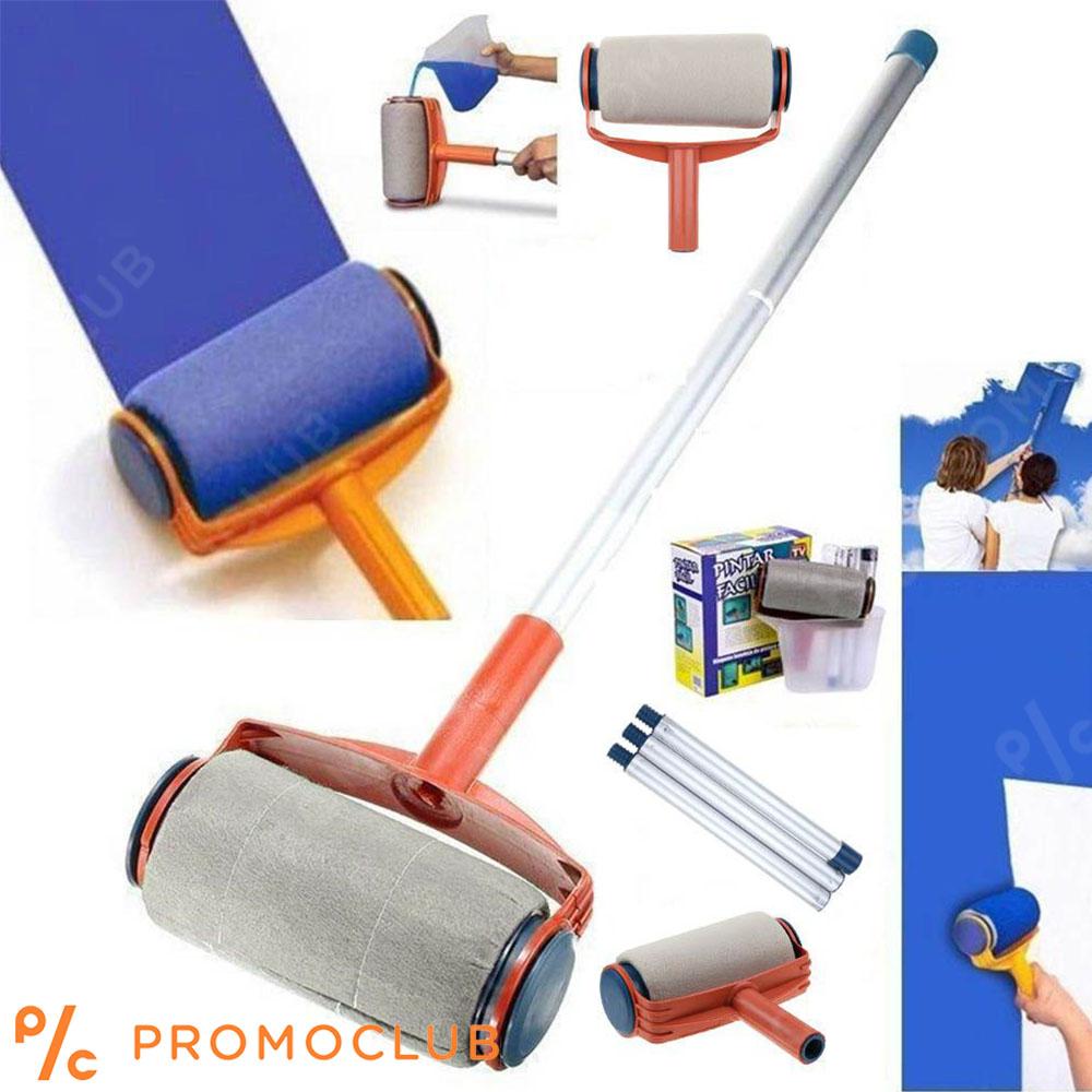 Безкапков PAINT RUNNER - комплект за боядисване,  валяк, кана, удължител в 3 части