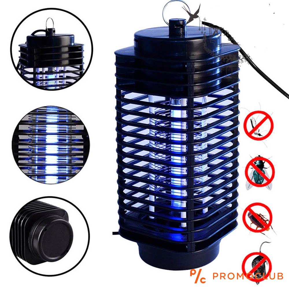 Голяма мощна UV лампа срещу комари и вредители - Electrical Mosquito Killer HK 1107