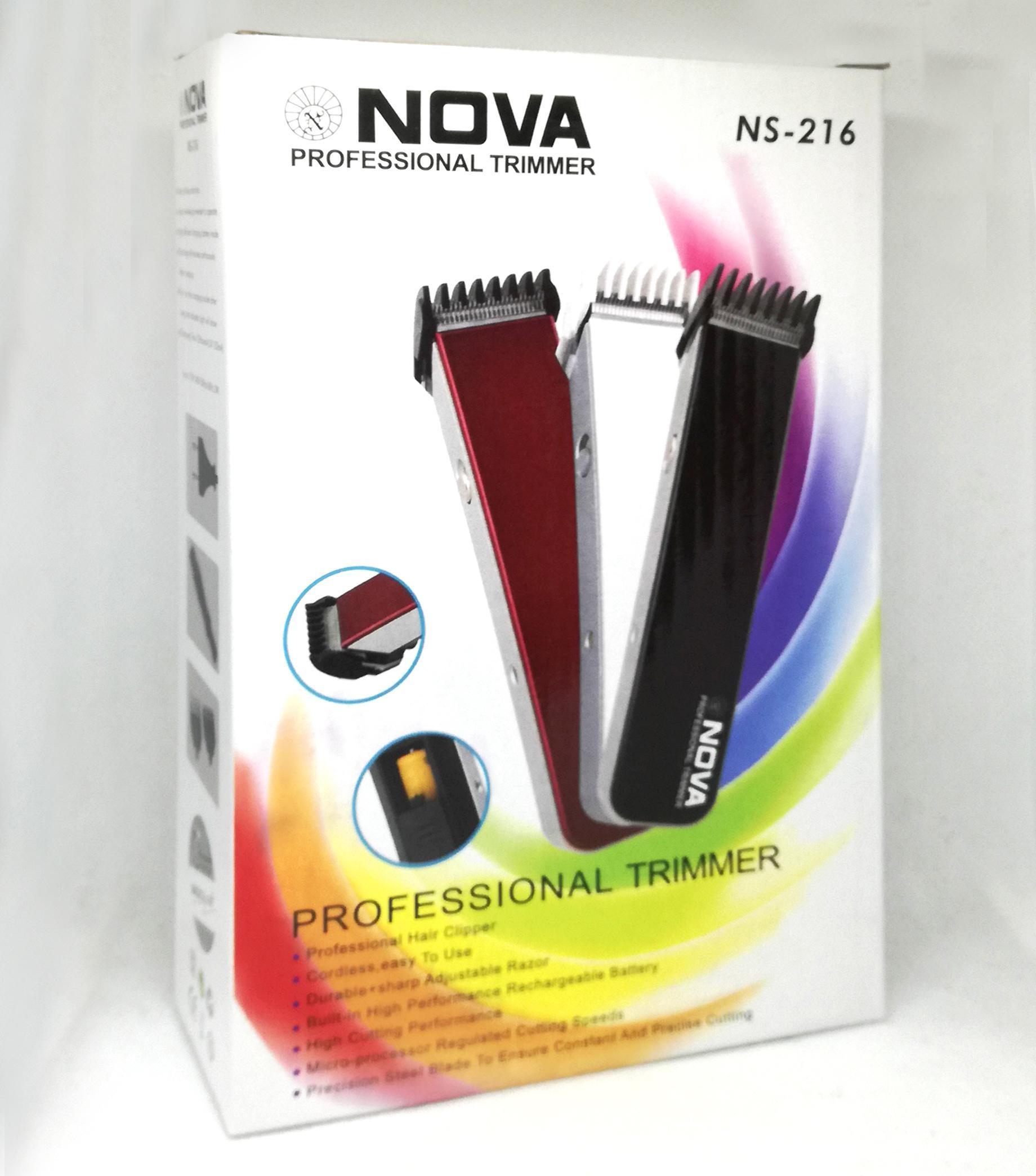 Акумулаторна машинка за подстригване NOVA 216 - дизайнерски модел