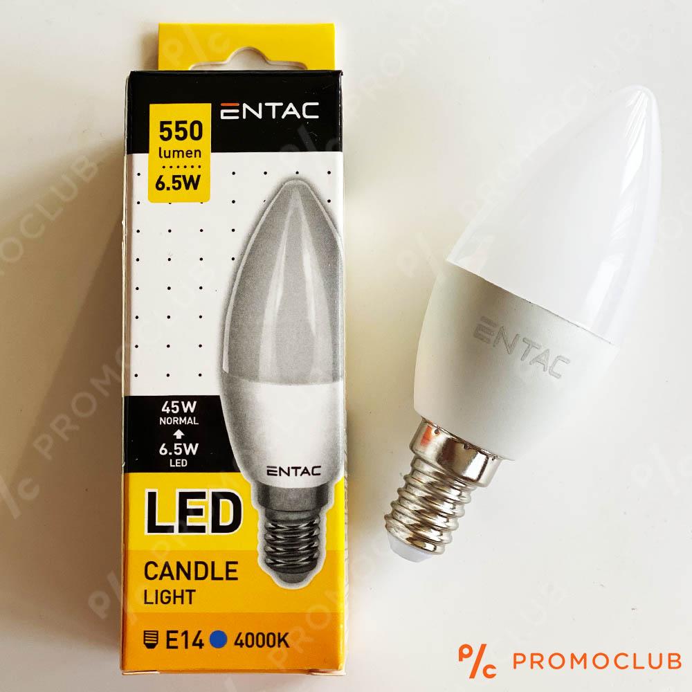 E14 LED 5W 4000K икономична и супер мощна LED крушка миньонка, аналог на 45W