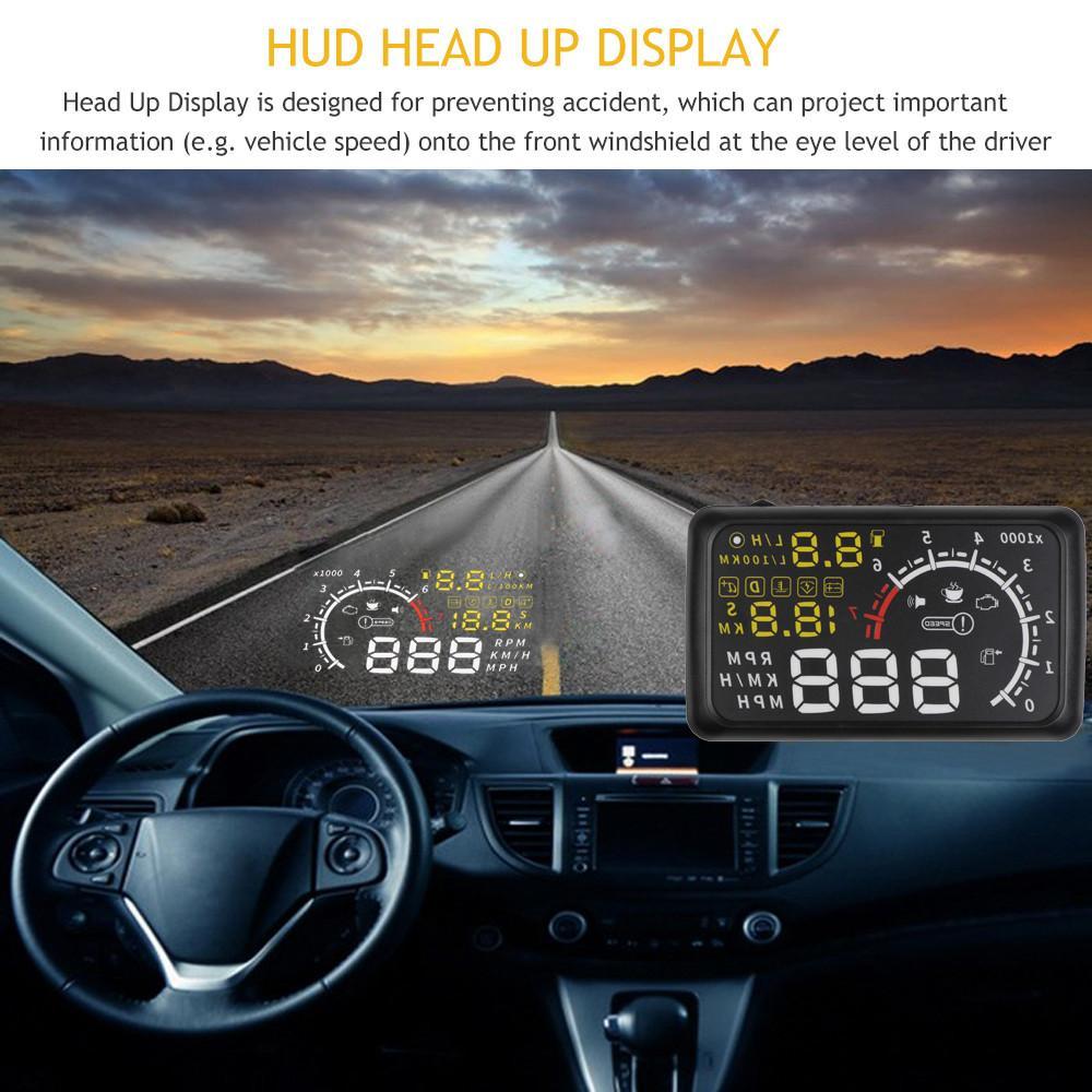 Холограмен авто дисплей HUD: HEAD UP DISPLAY, шофирай безопасно, виждай всичко