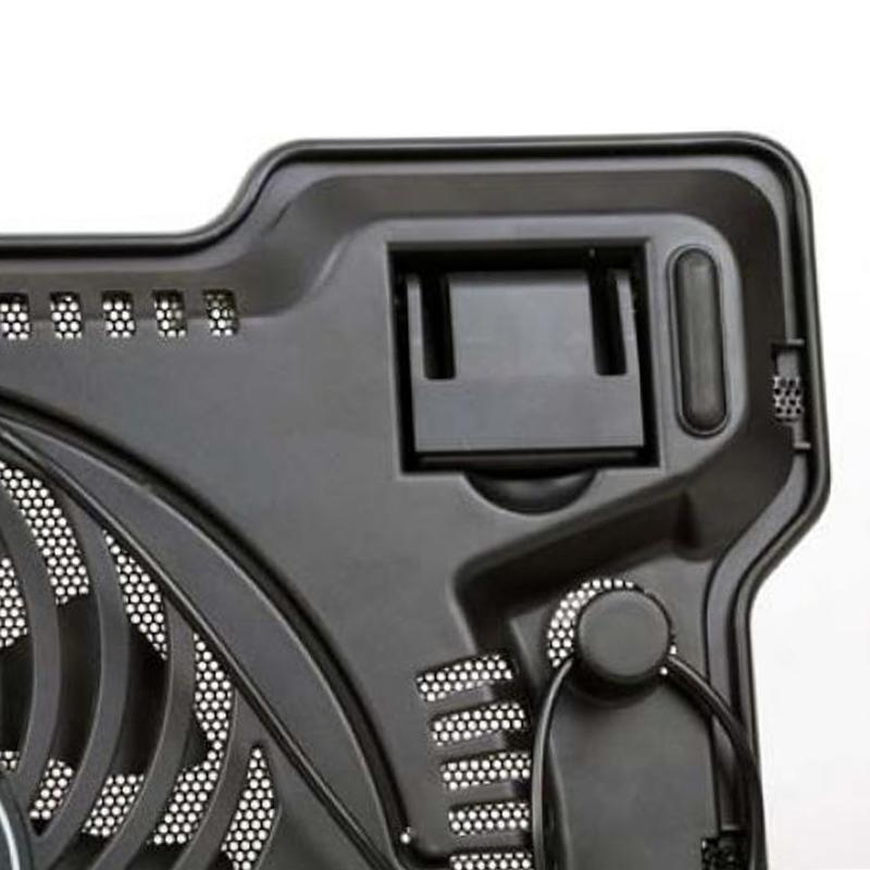 Солиден, мощен и тих охладител COOLPAD-878 за лаптопи до 15.4
