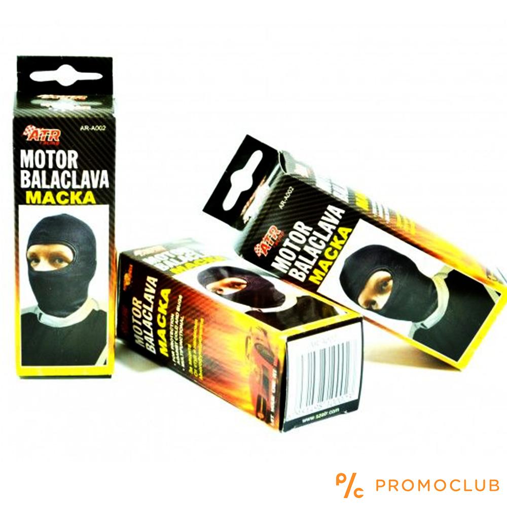 Качествено боне - маска от естествен памук за мотоциклетисти
