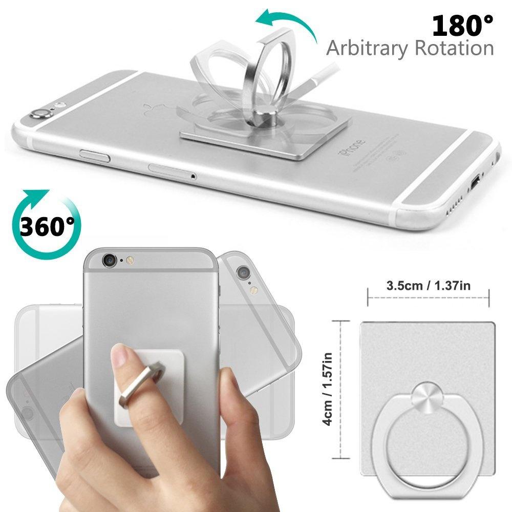 Супер кука за телефони и таблети 2 в 1: MOBILE RING HOOK