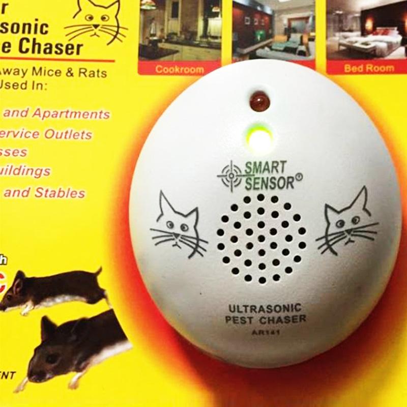 ЕЛЕКТРОННА КОТКА AR141B : професионален ултразвуков уред за прогонване на гризачи
