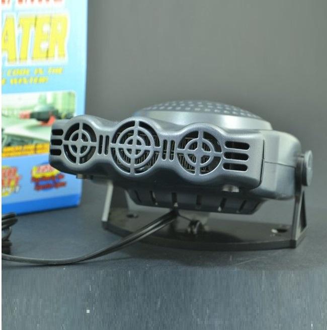 Електрическа вентилаторна печка 124 150W 12V захранване от автозапалка
