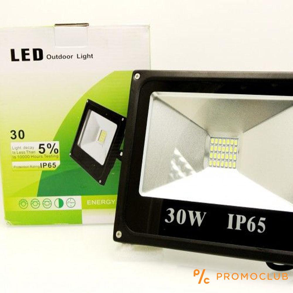 30W SLIM LED прожектор за външен монтаж IP65