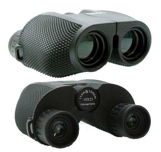Компактен и мощен бинокъл COMET 10x25 с прецизна оптична система, оптика