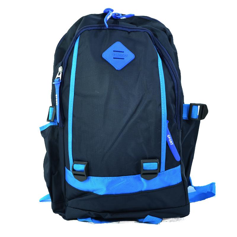 Здрава ученическа раница KELANGDI 21325 BLUE, сопртна раница, туристическа раница