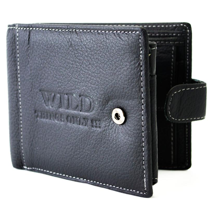 Кожен, мъжки портфейл WILD 31067