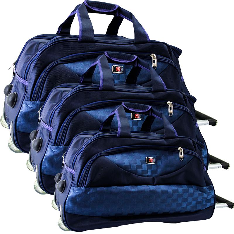 Комплект 3 пътни сака EASY TRAVEL BLUE 31685