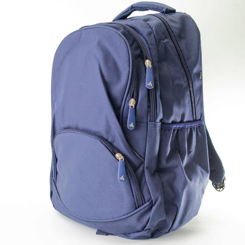 Ученическа раница URBAN WALK BLUE 321, здрав текстил, спортна раница, бизнес раница