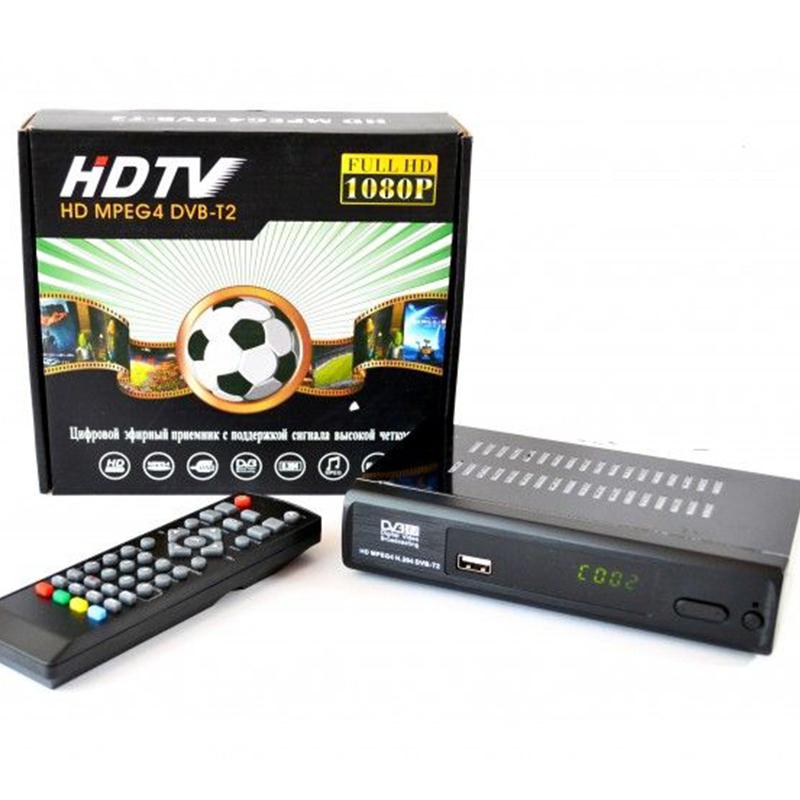 DVB-T2 FULL HD цифров приемник HD MPEG4 превръща стария ти телевизор в SMART TV