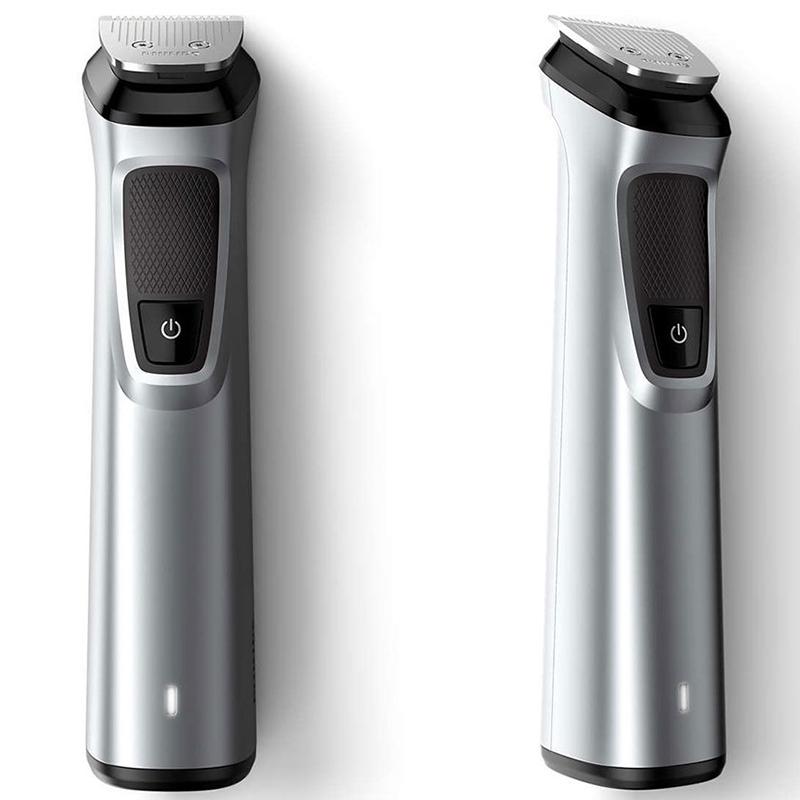 """Phililips Multigroom series 7000 """"14 в 1"""", лице/коса/тяло 14 инструм., Технология DualCut"""