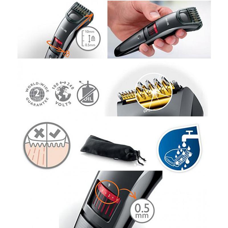 Mашинка за подстригване на коса и брада Philips QT4015/16