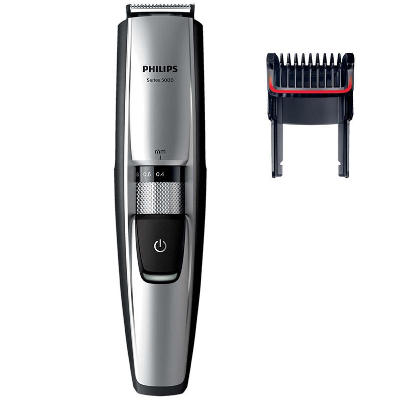 Тример Philips, водоустойчив, за подстригване на брада Series 5000 BT5205/16