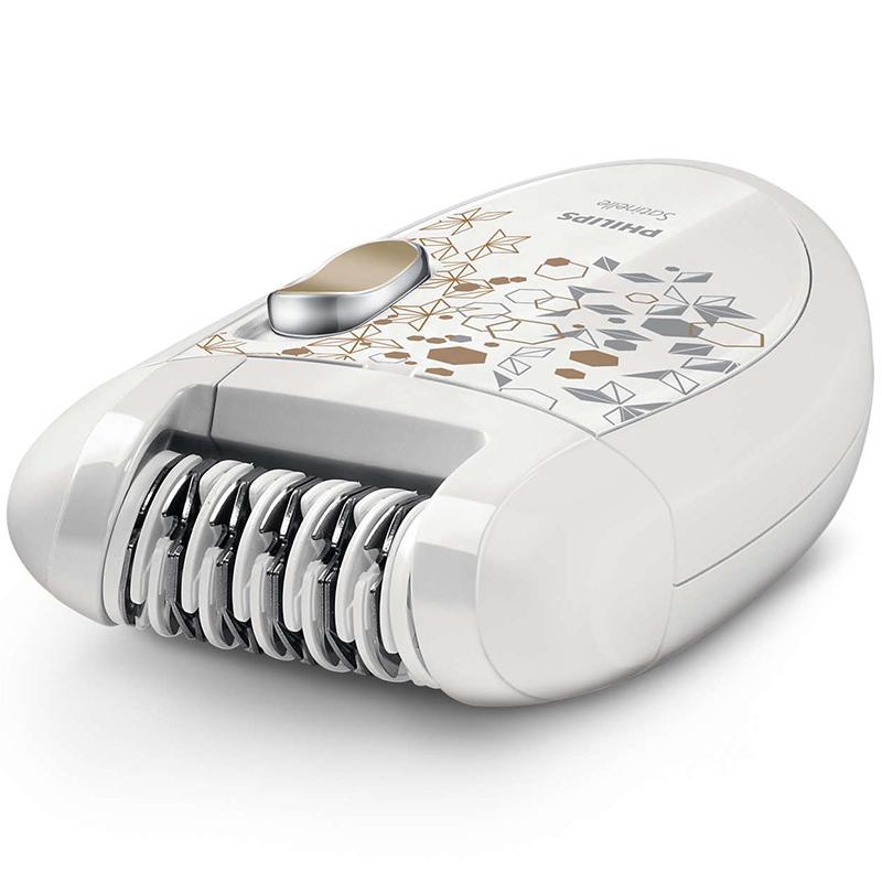 Епилатор с миеща се епилираща глава, бръснеща глава, ексфолираща ръкавица HP6425/01