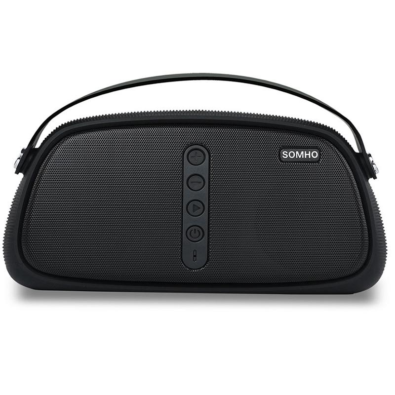 Мини Hifi аудио система SOMHO-S333, MP3, SD mamory, Bluetooth, USB, 24W